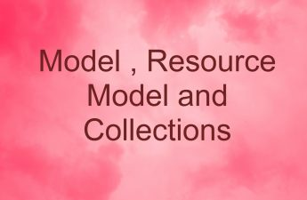 Model, Resource Model and Collections