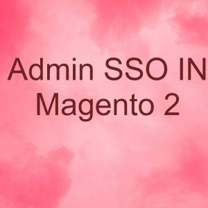 Admin SSO